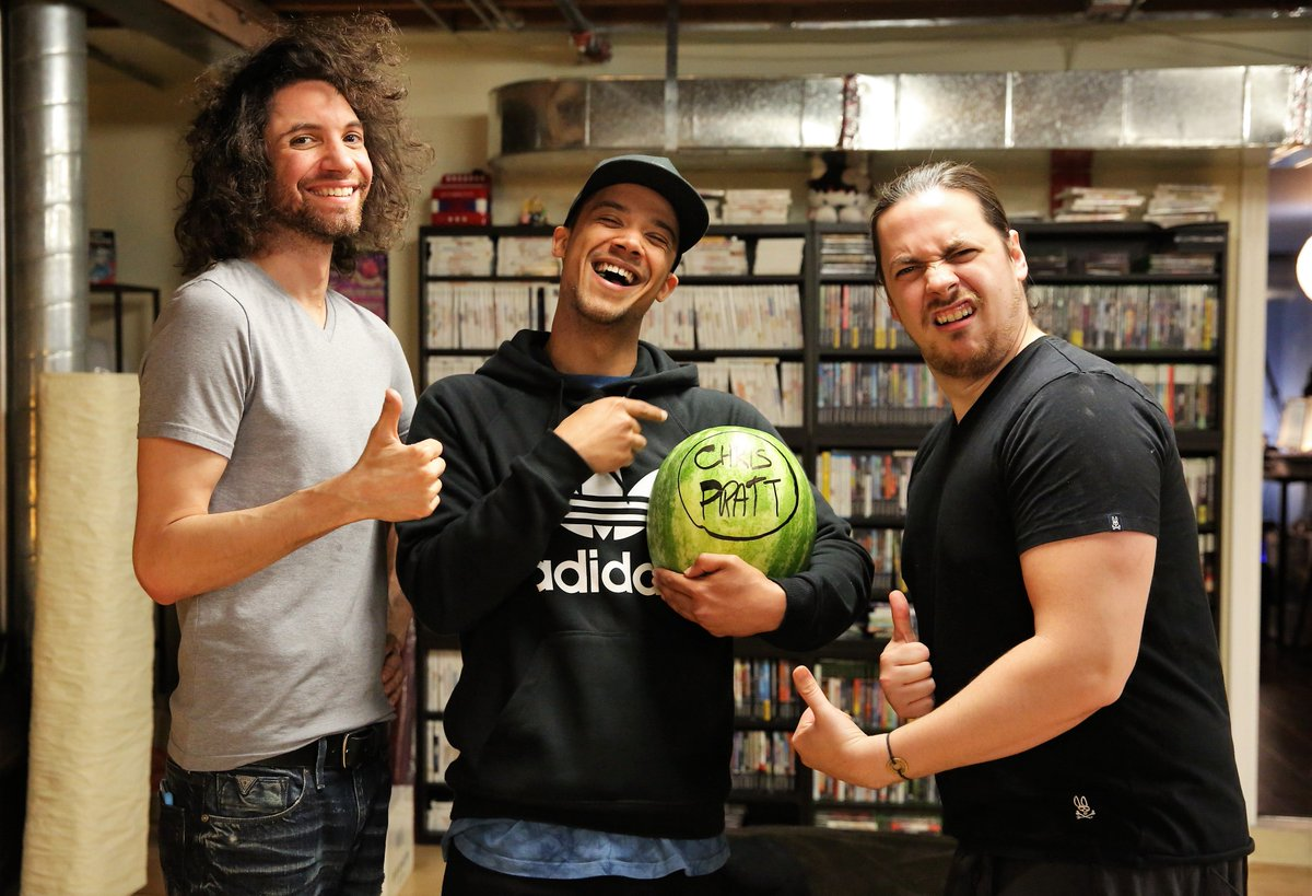 game grumps on twitter omg we hung out with raleighritchie and