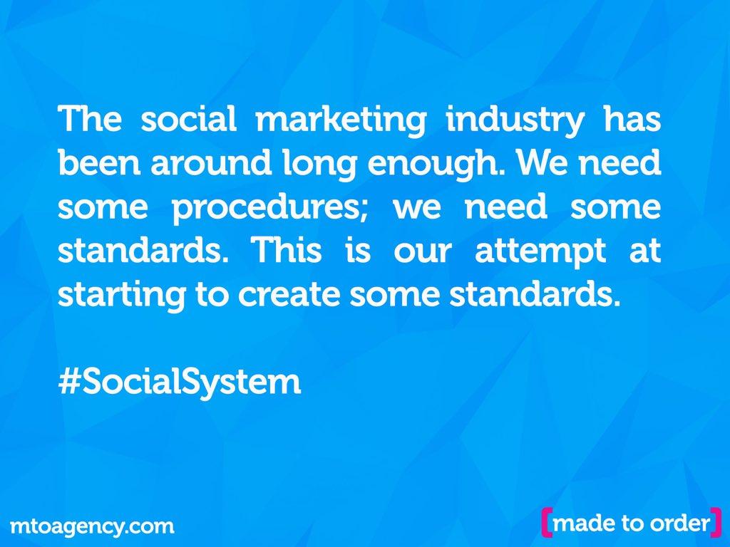 **Calling for #socialmedia industry standards**  https://t.co/jdw8IGOYgf  #SocialBusiness #contentmarketing #content https://t.co/jhjXsLJWoS
