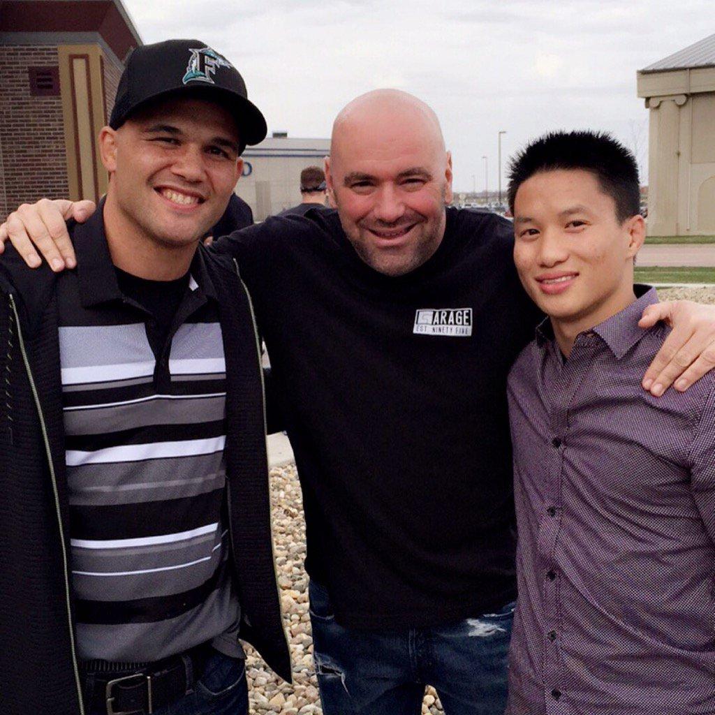 @Ruthless_RL X @danawhite X @Ben10MMA at @RFAfighting in Sioux Falls! #rfa37 #morethanafuel #morethanafighter