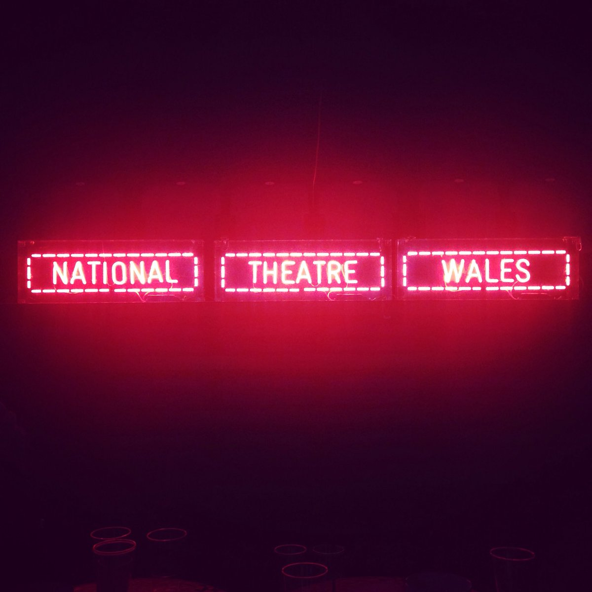 Neons still got it #ntwBangor  #ntwTEAM https://t.co/CehfcA10cH