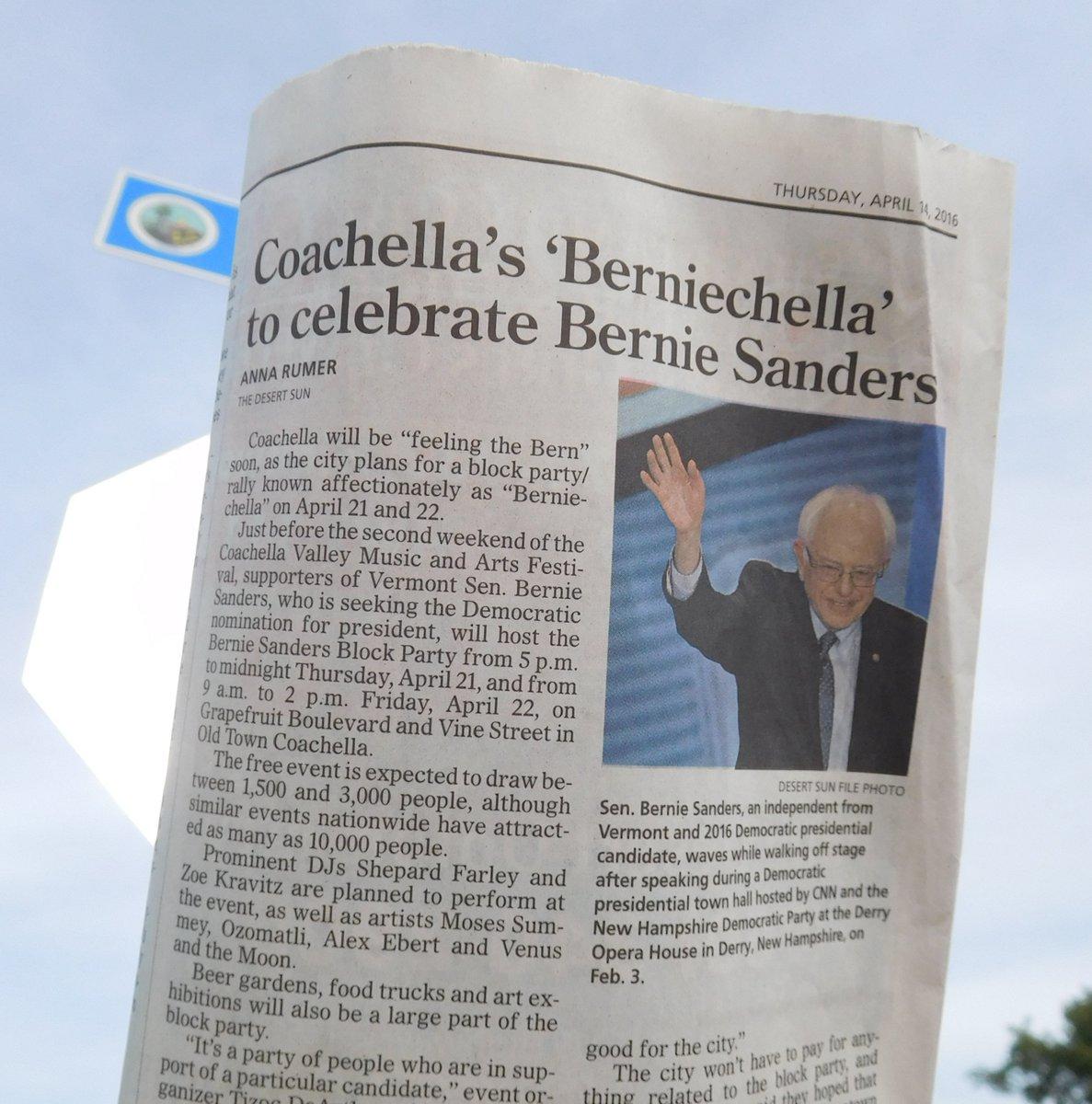 Reminder, Next week is the Bernie Sanders #FREE #BlockParty in Coachella #BERNIECHELLA 21&22 https://t.co/unMu1P3zGi https://t.co/XFa3GT5ZgX
