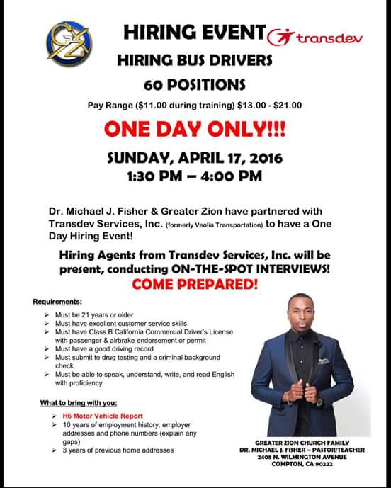 ***HIRING EVENT*** don't worry about not meeting all requirements, SHOW UP ANYWAY!!  DRESS TO IMPRESS https://t.co/Yf0Bo2KhOU