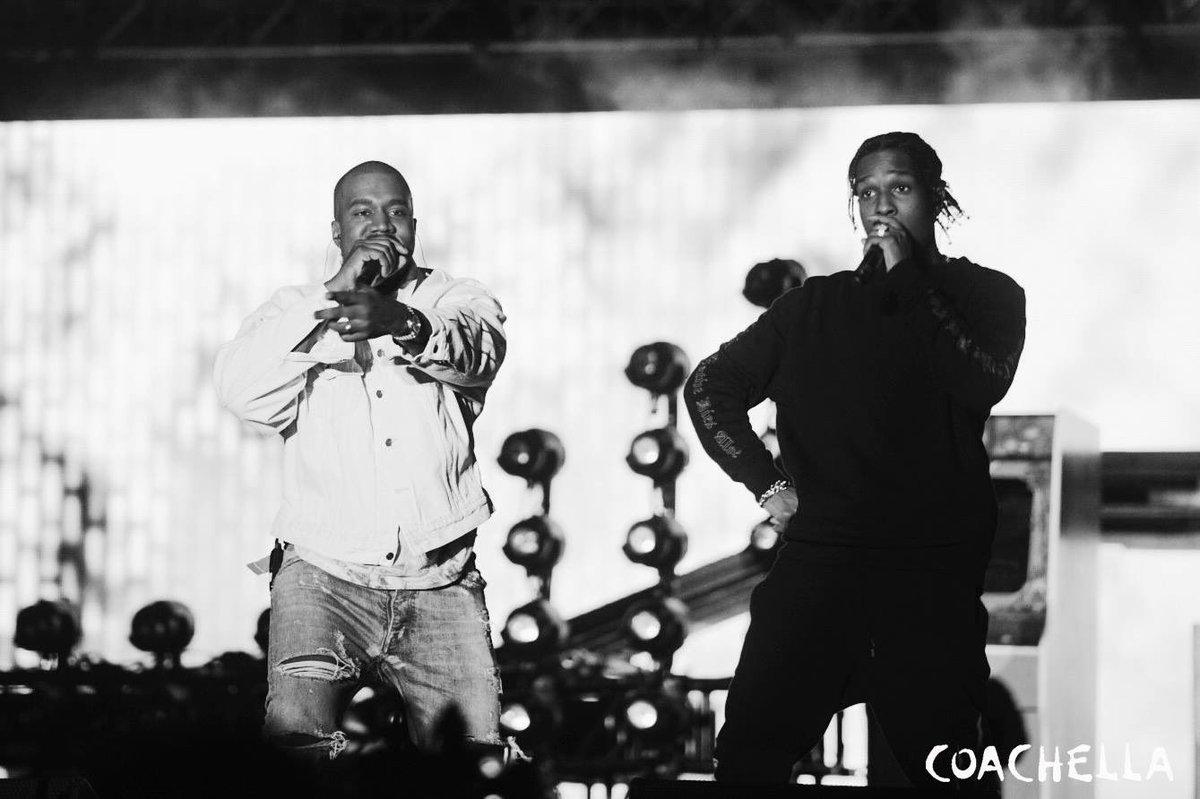 Kanye West Joins A$AP Rocky at Coachella 2016 [VIDEO] news