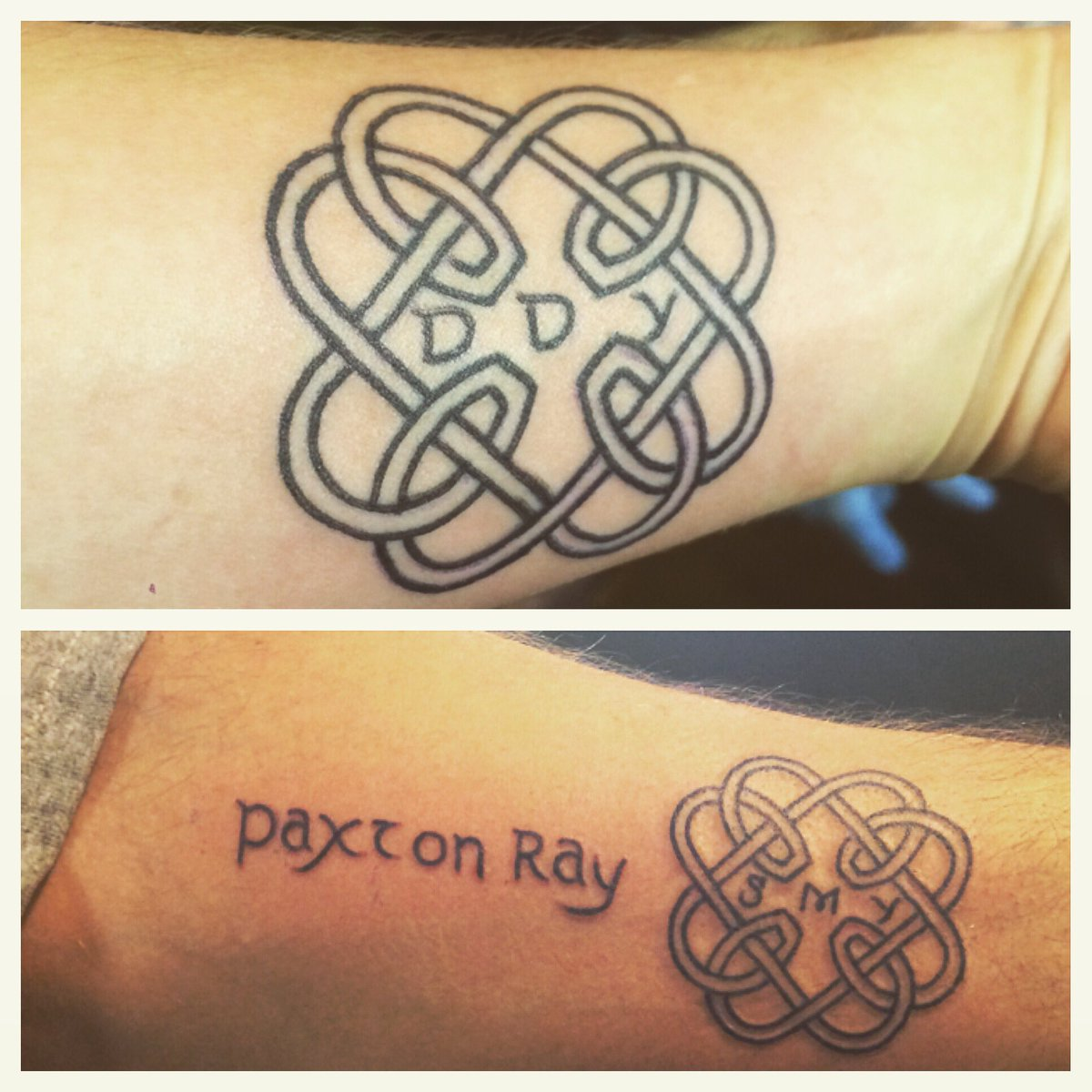Sara Young On Twitter Father Daughter Matching Celtic Knot Tattoos