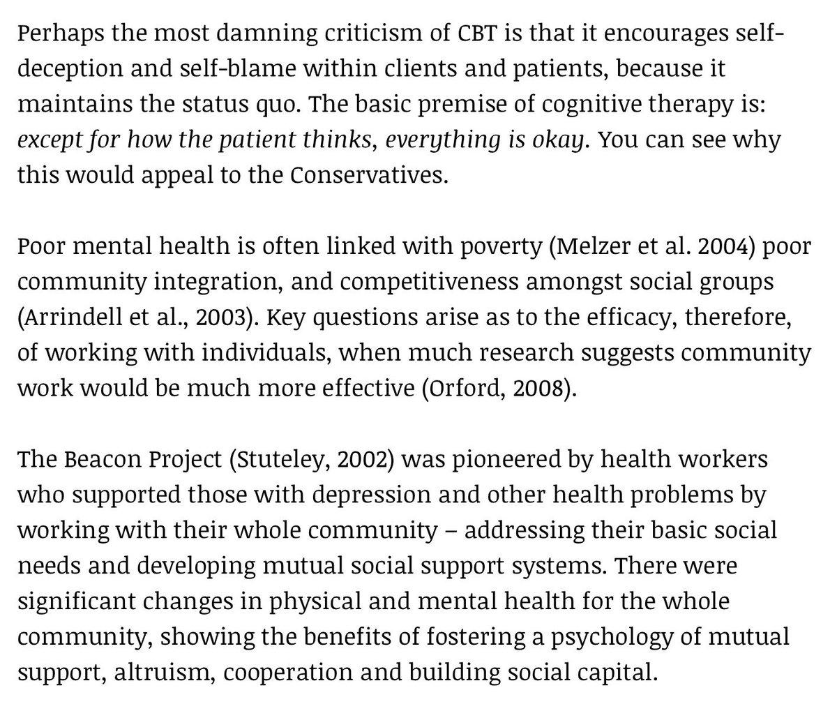 Nicky Lambert On Twitter Strong Words Misuse Of CBT Positive Thinking Is Political Gas Lighting TY KittySJones Tco KvJQDUVP6U