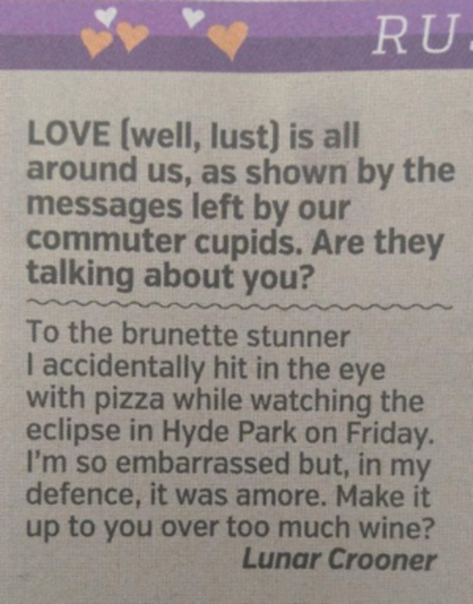 Man trolls newspaper missed connections brilliantly | Scoopnest