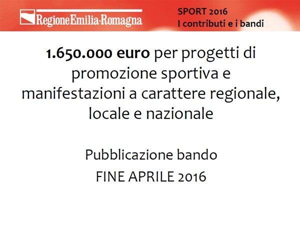 @andrearossi76: a fine aprile 2016 oltre 1,5 mln di euro X progetti di promozione sportiva #sporter https://t.co/7QlIdJd5RM