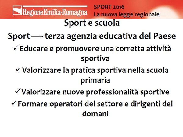 .@andrearossi76: la prima parola chiave di sportER è scuola, la terza agenzia educativa del Paese https://t.co/QU91zfR5qJ