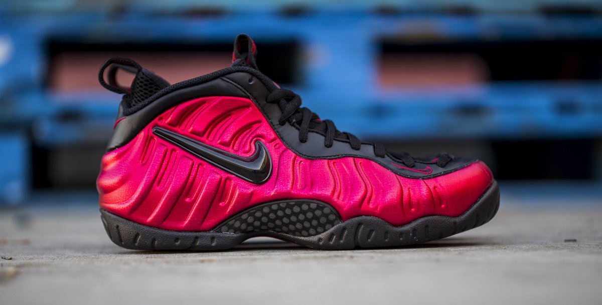 729031cefebe1 the nike air foamposite pro university red is out now men s gs