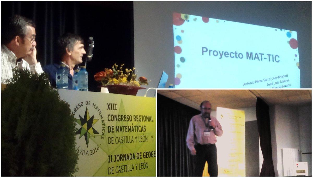 Presentación del programa MAT TIC, #matavila2016 https://t.co/rHmH0fVQeZ