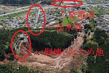 (゚Д゚) 黒川第1発電所が倒壊したってニュースが垂れ流されているけど、私の解説画像貼っておきますね。 #震災 #原発 https://t.co/WdCiRSeOQr