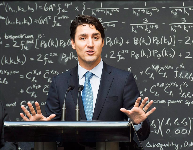 And US Republicans still believe in angels… Justin Trudeau on quantum computing  https://t.co/7bGACIO9iG https://t.co/3sO7v59bX5