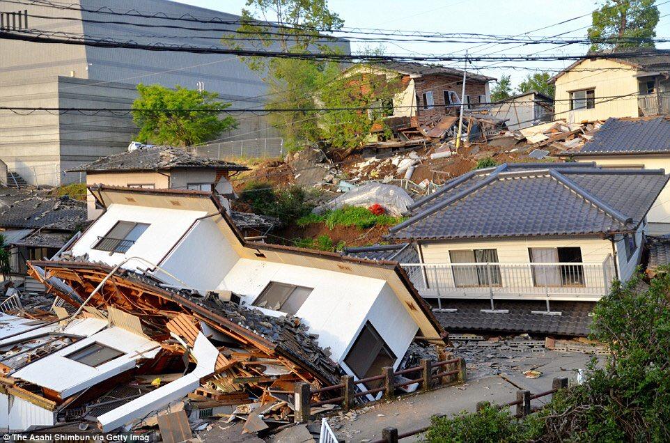 Землетрясение фото картинки