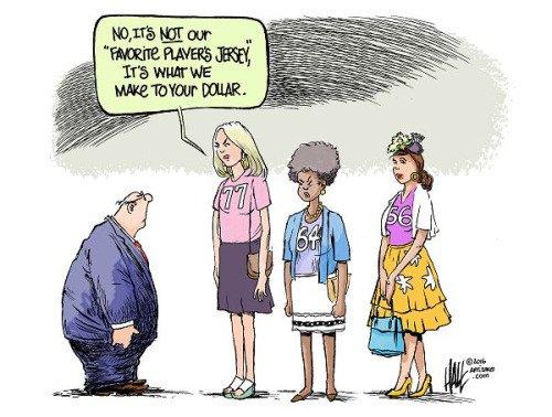 'The Gender Pay Gap Isn't A Myth' .. (article here) https://t.co/LNABduw2Gu https://t.co/cYms32uUEf