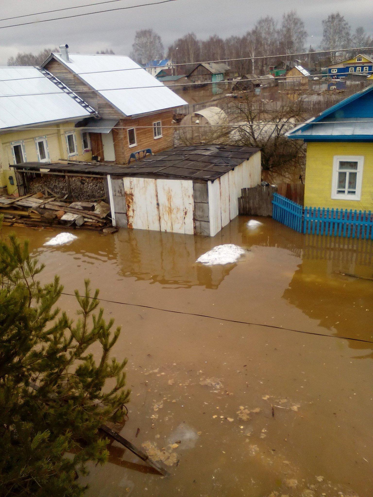наводнение в великом устюге фото часто они