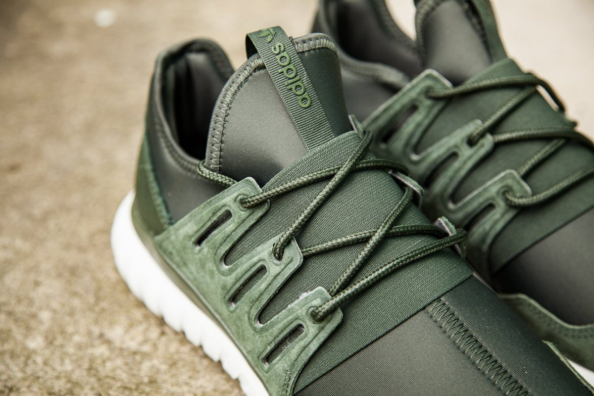 adidas tubular radial green