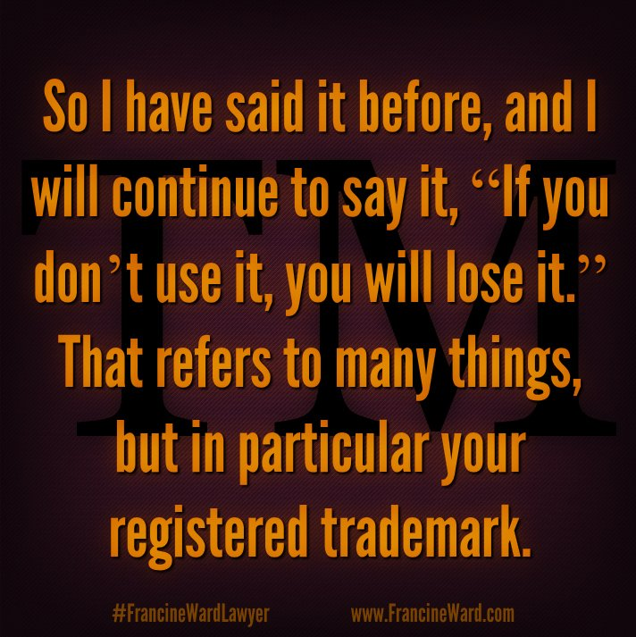 Folks think once you secure a registration for trademark, you're good to go—forever! Not so. https://t.co/rxOjdZHRqM https://t.co/VGWt94qXY7