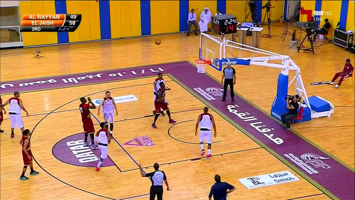 الغرافة و الجيش في نهائي كأس سمو الامير لكرة السلة يوم الجمعة المقبل