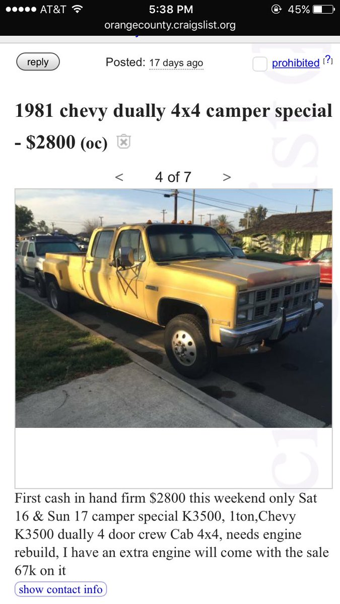 chasetruck hashtag on Twitter