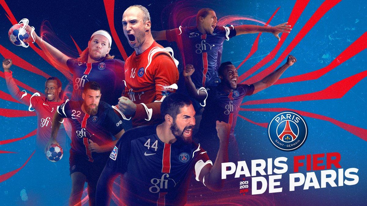 psg handball on twitter paris est champion de france victoire devant le fenix hb 37. Black Bedroom Furniture Sets. Home Design Ideas