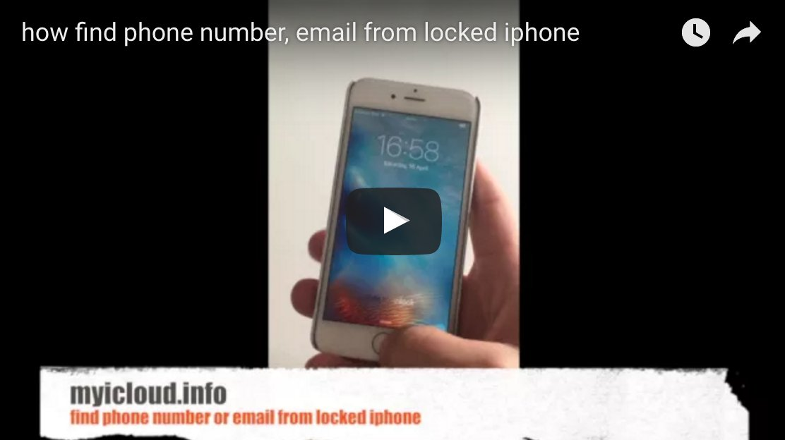 How To Find Icloud Email On Locked Iphone – Best Cloud 2018