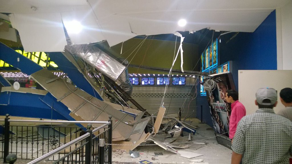 Danni causati dal terremoto in Ecuador