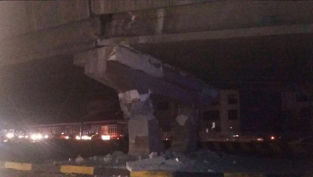 Danni alle strutture in Ecuador dopo il terremoto M7,8 di oggi