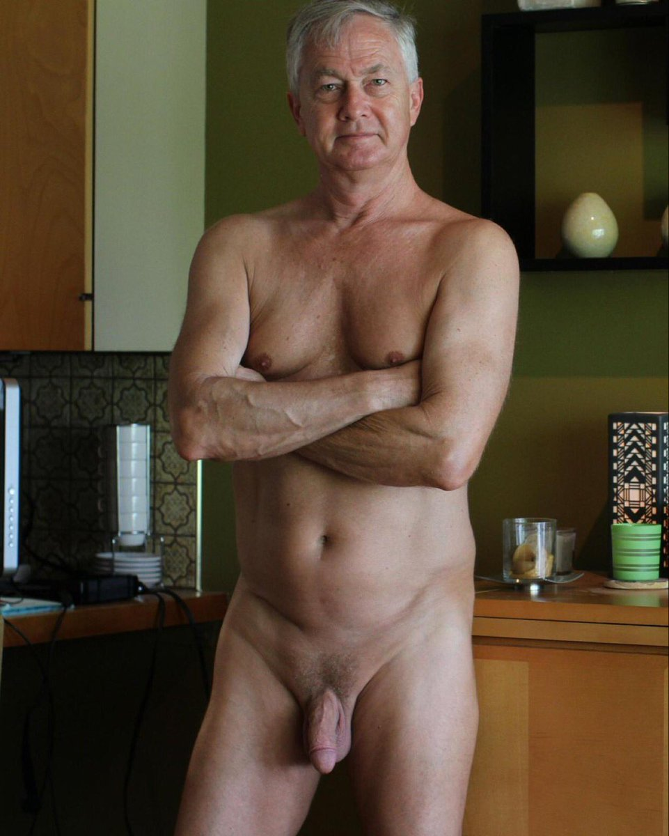 Nude old men underwear