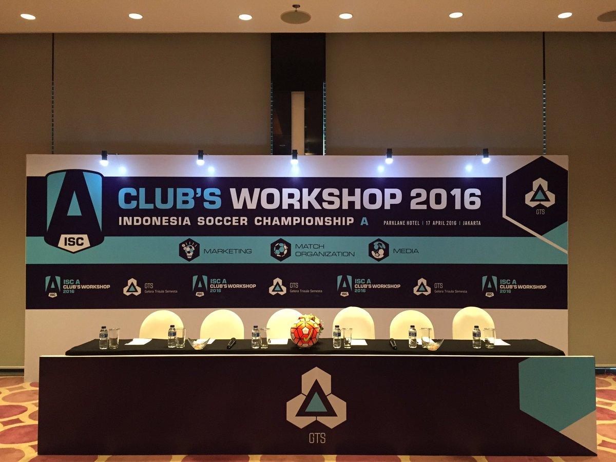 @ISCgelora 5h5 hours ago View translation Selamat pagi! Hari ini sebagai persiapan menuju dimulainya #ISC akan digelar workshop untuk klub peserta