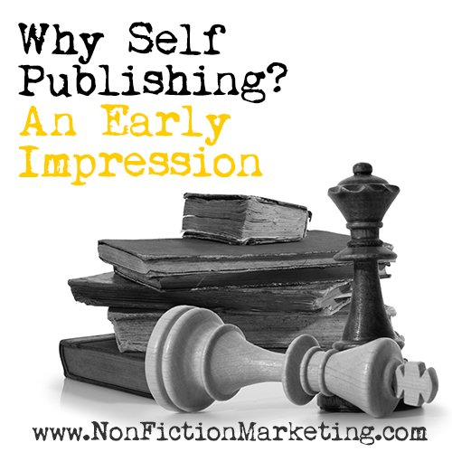 Why #SelfPublishing: An Early Impression https://t.co/Zm9krpZpOj https://t.co/wOv0CESH5o