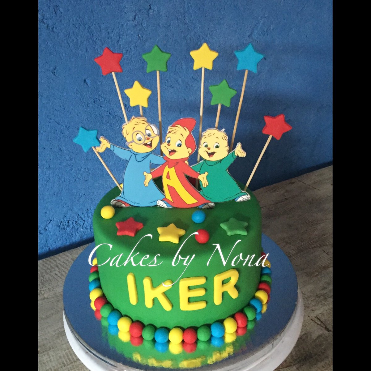 Tremendous Cakesbynona On Twitter Alvin And The Chipmunks Bday Cake Alvin Funny Birthday Cards Online Sheoxdamsfinfo