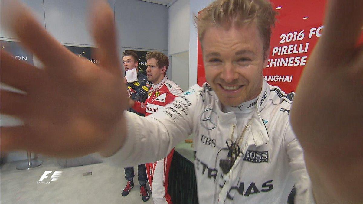 Formula 1: Rosberg vince in Cina, Vettel secondo