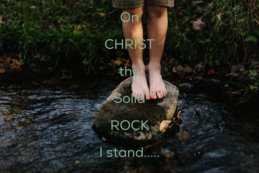 SingAlong🎶🎵 On CHRIST tSolid Rock I Stand;All Other Ground Is Sinking Sand🎶🎵 @elaine6972_cd @Heavensangel67 @dtg9456