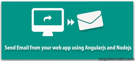 Send email from website using AngularJS and NodeJS – Angular Code