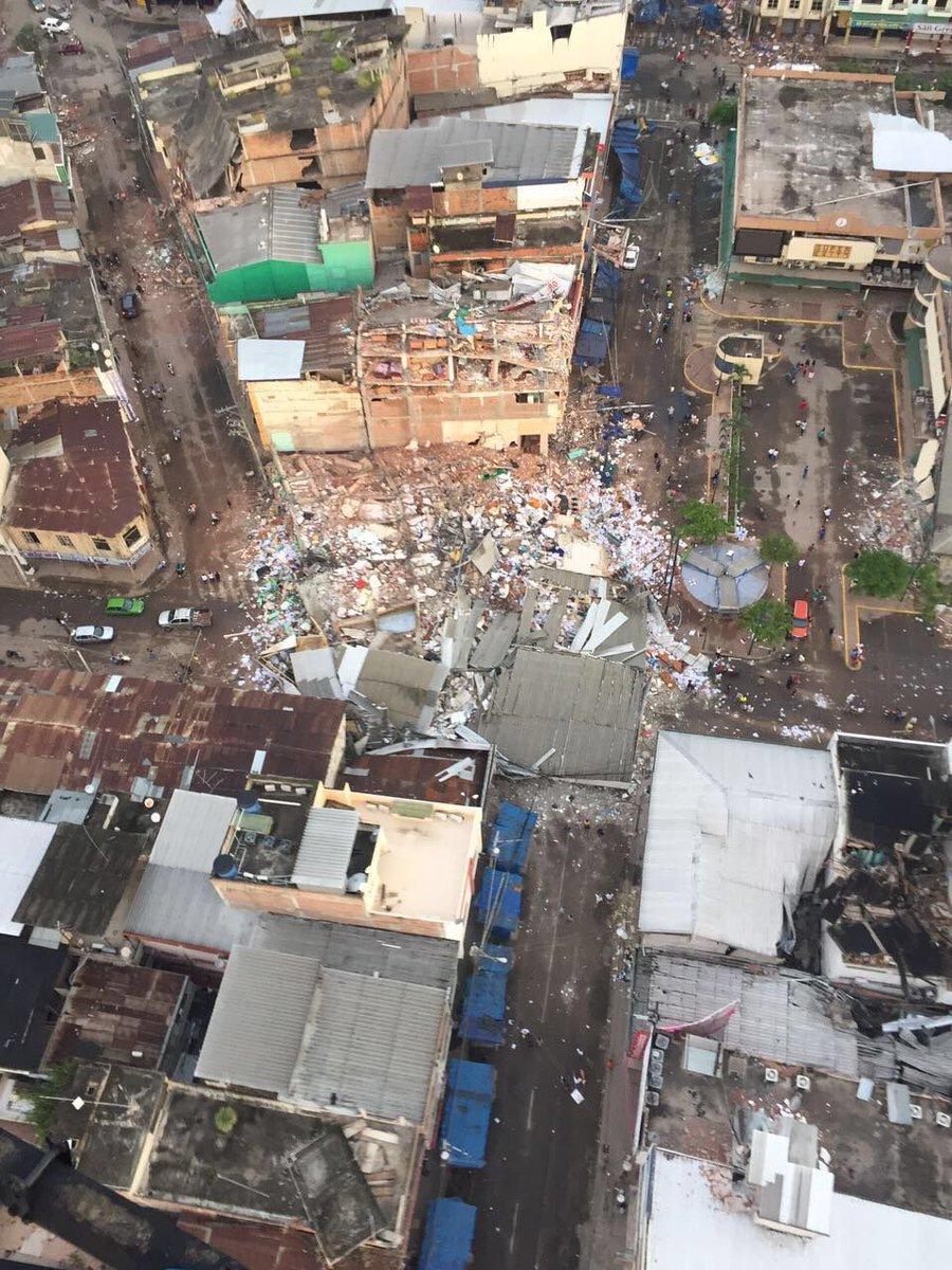 Mucha fuerza para el pueblo ecuatoriano.. Las imágenes hablan por si solas. Qué dolor! #PrayForEcuador https://t.co/sp6Q8Oe7o7
