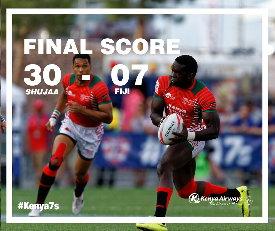 Congratulations @KenyaSevens #Kenya7s https://t.co/22fQvbo3Wi
