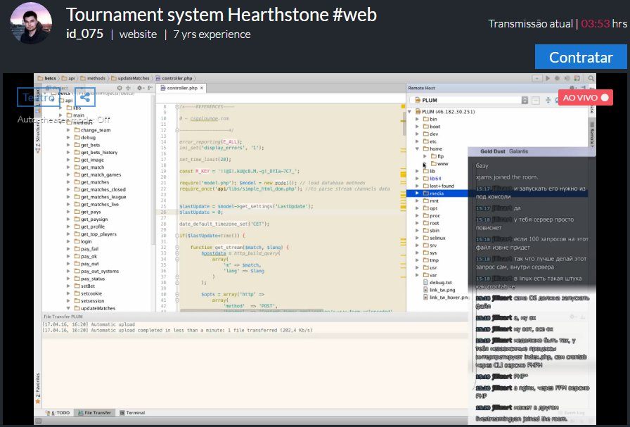 Tournament syste… – Angular.js – Livecoding.tv