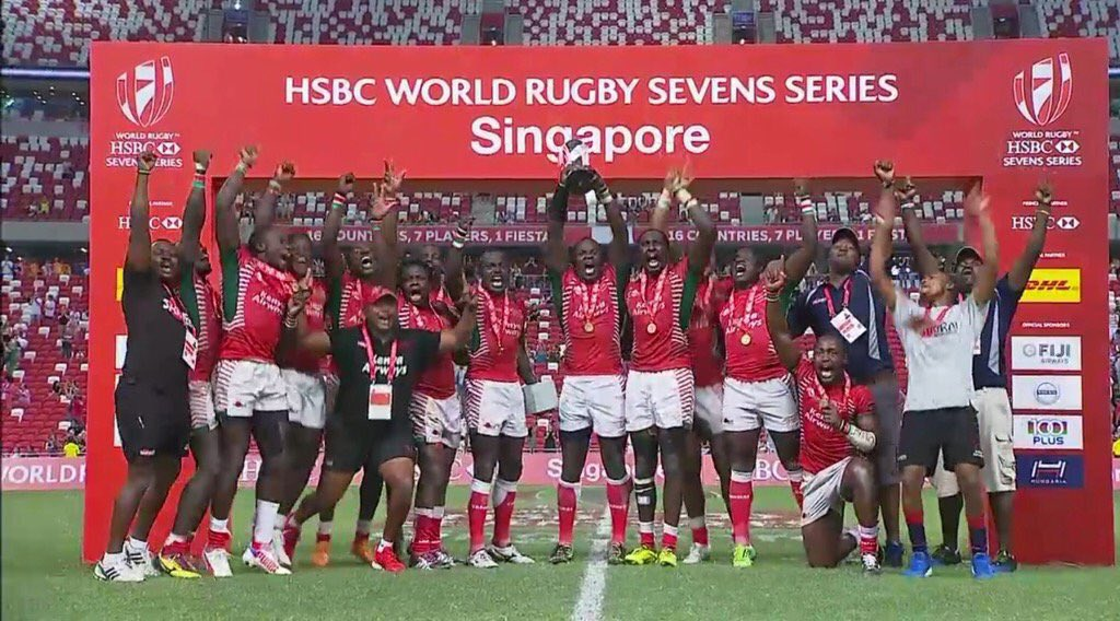 Kenya is a Hotbed of Champions!!! Hongera #Kenya7s for the Win. If you are proud of our boyz. #RETWEET https://t.co/77tIXrQW02
