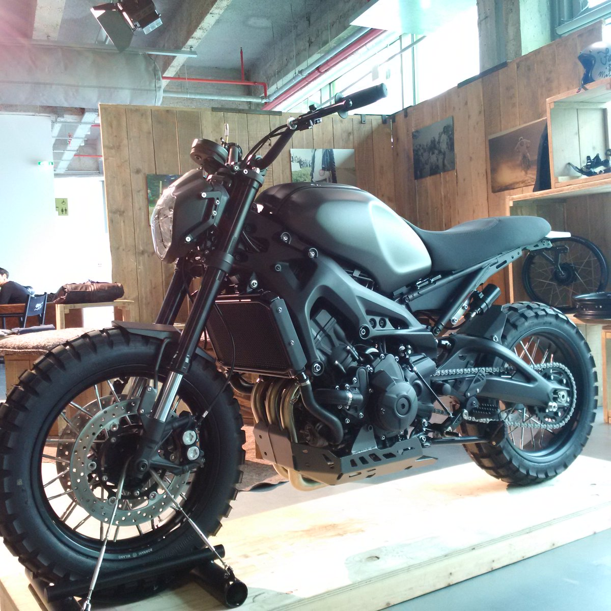 Yamaha Motor Europe On Twitter At BikeShedParis2016 The New Yardbuiltproject XSR 900 Monkeebeast By Wrenchmonkees BikeShedMC