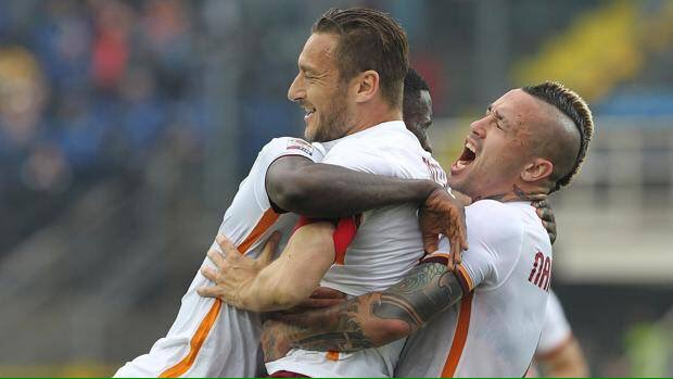 ATALANTA ROMA 3-3 Video Gol: Totti pareggia e salva la classifica