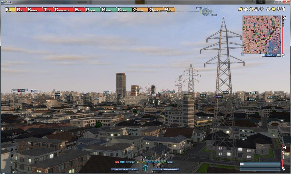 マップ 鉄塔