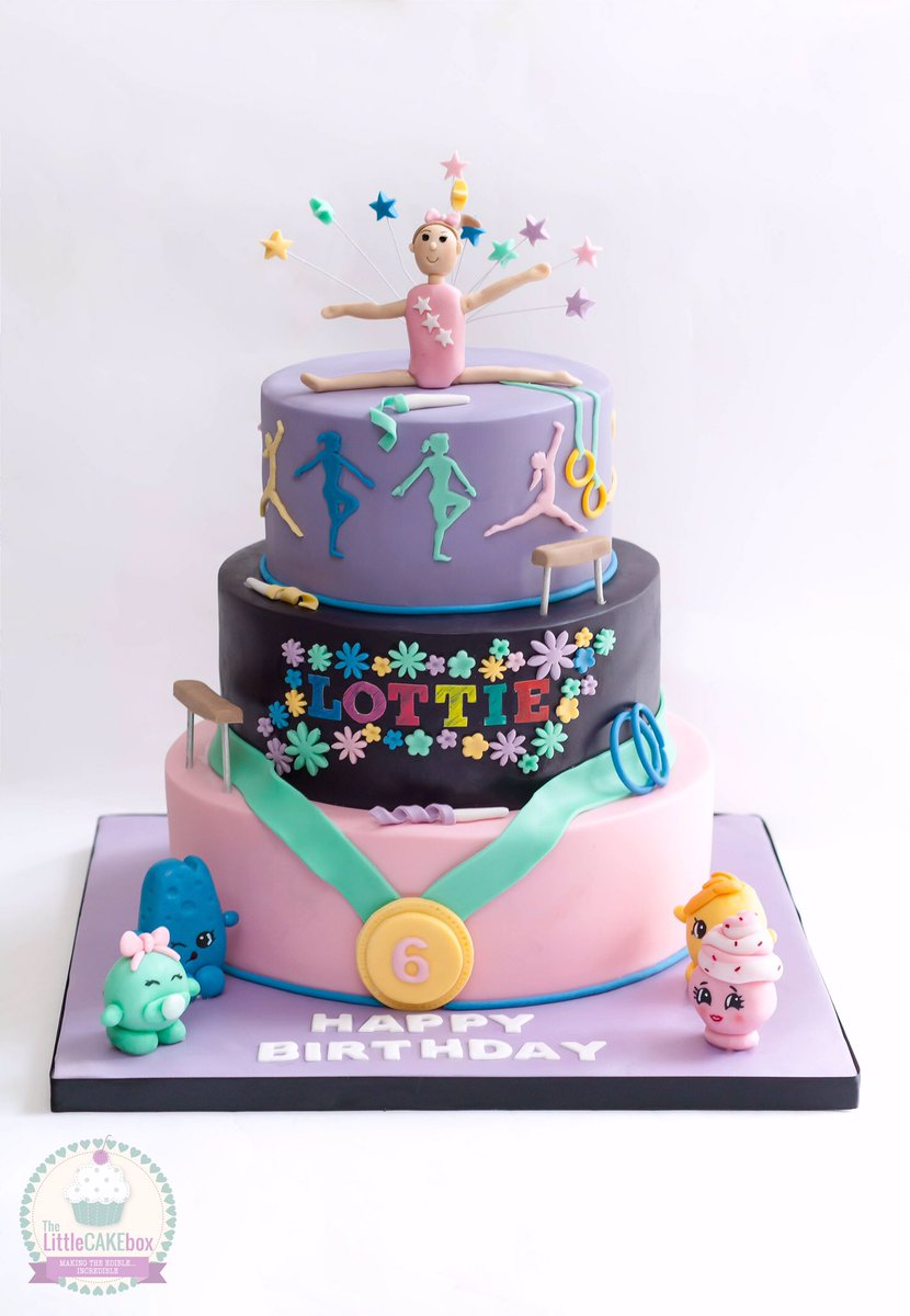 Groovy Gymnasticscake Hashtag On Twitter Personalised Birthday Cards Bromeletsinfo