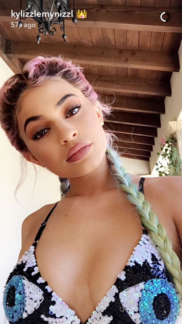 Funny Tweets On Twitter Kylie Jenners Rainbow Braids