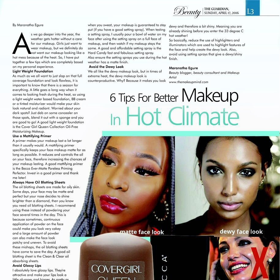 I was featured on today's Guardian newspaper in the guardian life magazine section!! It's a full page spread