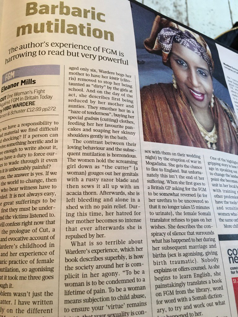 Great review of @HiboWardere book in Sunday Times Culture. https://t.co/dNZHwv57en