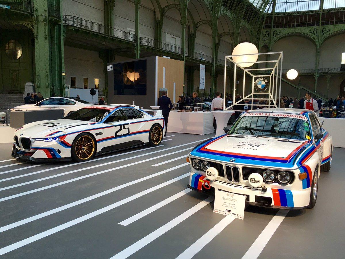 Le stand @BMWFrance au Grand Palais pour le @tourauto est un concentré de prestige et de sportivité. https://t.co/L3FIPaW2Cf
