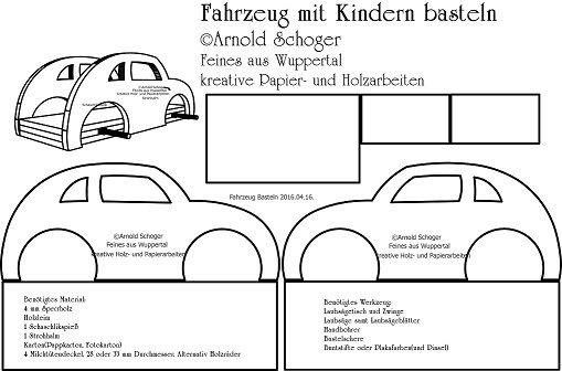 Arnold Schoger On Twitter Laubsägevorlage Zum Auto