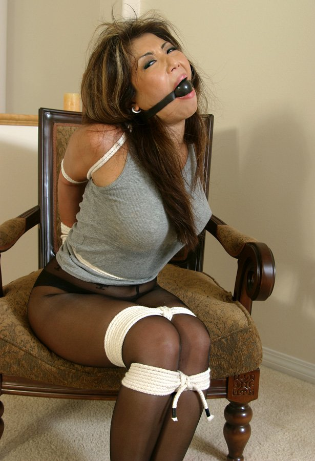 bound and gagged stories Women
