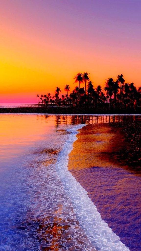 Beautiful music on twitter beach sunset nature - Nature wallpaper status ...
