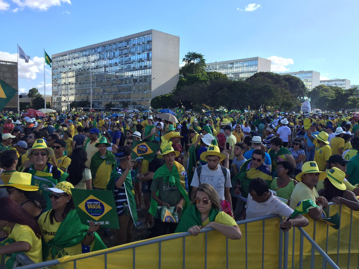 Brazil's lower house votes for Dilma Rousseff's impeachment